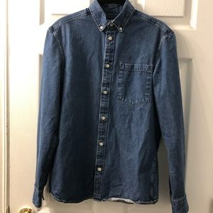 H&M demin shirt 100% cotton